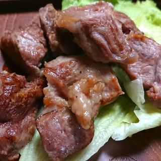 フライパンで簡単美味しい★豚かしら焼き