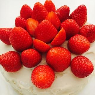 グルテン&乳製品フリーの豆腐クリームショートケーキ