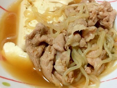 肉豆腐 高タンパク質低カロリー☆