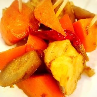 菊芋と根菜のごろごろ煮