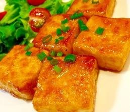 ガリバタ豆腐ステーキ