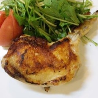 フレンチドレッシングで簡単チキンのマリネソテー