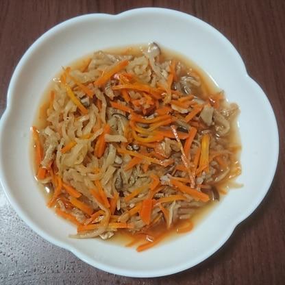 椎茸入りで作ってみました! 冷めても美味しかったです。 レシピありがとうございます。