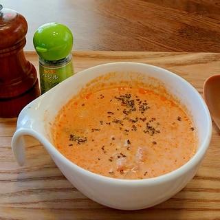 簡単朝活!トマトミルクスープであったか朝ごはん