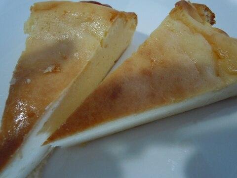 大豆粉でチーズケーキ