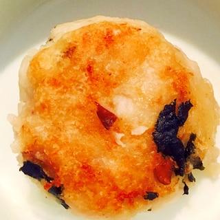 里芋の煮物リメイク☆里芋のお焼き