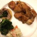 鶏胸肉の照り焼きマヨ風味