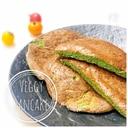 野菜たっぷり⁂ほうれん草のパンケーキ⁂