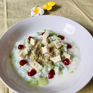 [レンジ]キャベツ&ヨーグルトサラダ