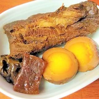 ●超簡単♪炊飯器で「勝手に美味しくなる」煮豚&卵●