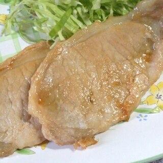 豚肉の塩麹はちみつ生姜焼き