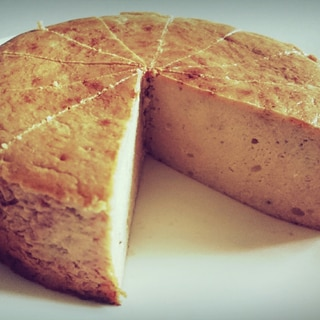 濃厚バナナチーズケーキ