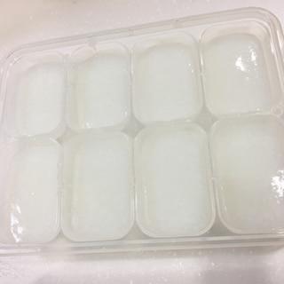 離乳食!10倍粥炊飯器レシピ   〜冷凍から解凍〜