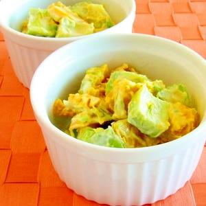 アボカドとかぼちゃのサラダ