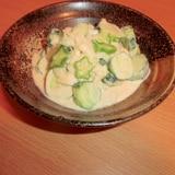 きゅうりのマヨヨーグルトサラダカレー風味丼