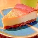 フードプロセッサーで簡単チーズケーキ