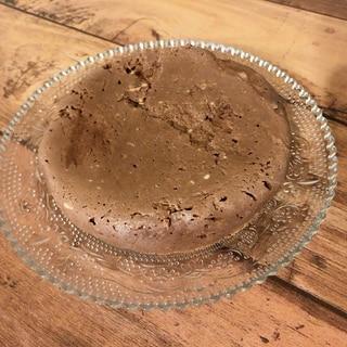 《レンジ》低糖質!豆腐チョコケーキ
