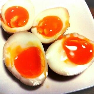 とろとろ☆とろーり半熟煮卵