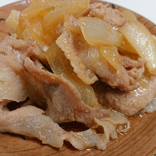 甘い豚の生姜焼き*