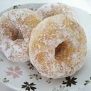 アレルギー対応♪卵・牛乳なしのふんわりドーナツ