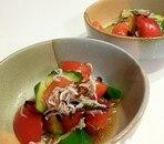 トマトときゅうりの中華サラダ