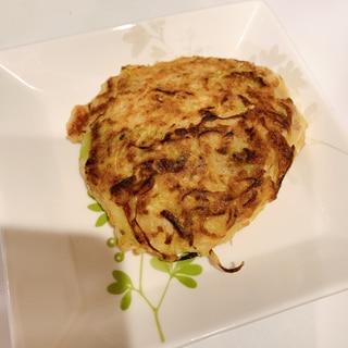 【離乳食完了期】ひき肉のお好み焼き☆