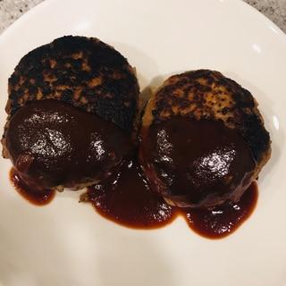 大豆粉も使った豆腐ハンバーグ