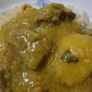【本場家庭の味】アル・ゴーシュト(じゃが芋と羊肉)