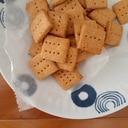 米粉とおからパウダーのきな粉クッキー