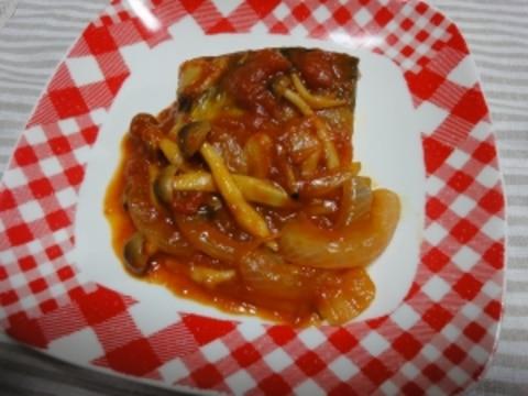 簡単♪鯖のトマト煮