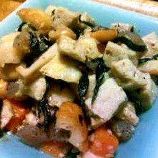 やさしい常備菜♪高野豆腐の五目煮