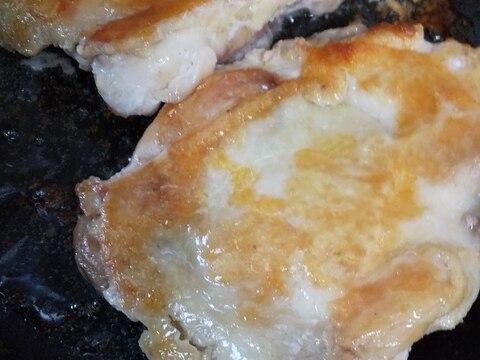 チキンステーキ(うなぎのタレで)