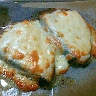 ブリ&チーズ焼(オーブン)。