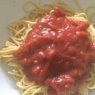 簡単★定番トマトソーススパゲッティ