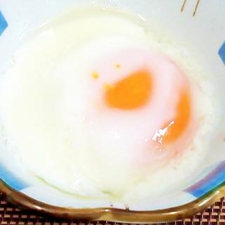 ♪とろ~り温卵♡レンジで1分♪