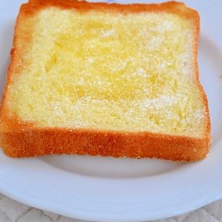 *毎朝食べたい♪シュガーバタートースト*