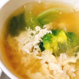 親子丼風スープ