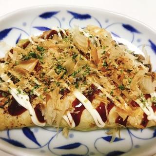 大阪名物!豚バラ入り♡キャベツ焼き