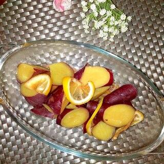 さわやか♪さつま芋のレモン煮