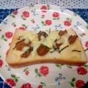 ホタテ海苔トースト