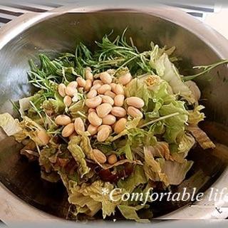 """★""""蒸し大豆のサラダ"""