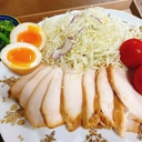 低温調理器で作る!鶏ハム(照り焼き風)