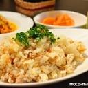簡単*野菜とひき肉の炊き込みピラフ*