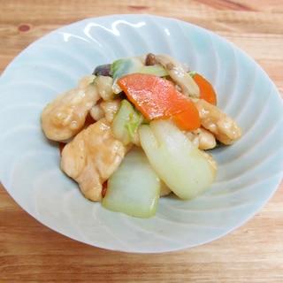*鶏と白菜の蒸し炒め*