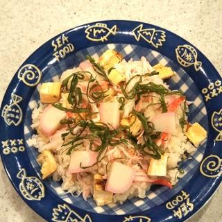 節約レシピ!簡単ちらし寿司