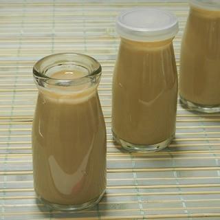 ブラックコーヒー缶で簡単♪ほろ苦カフェオレプリン
