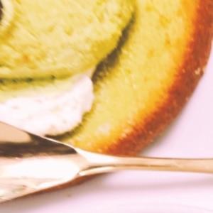 HMで簡単♪抹茶黒豆パウンドケーキ