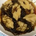 ちくわぶと切昆布の煮物