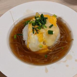 ふわとろ卵の天津飯♪
