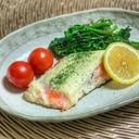 鮭のマヨチーズ焼き
